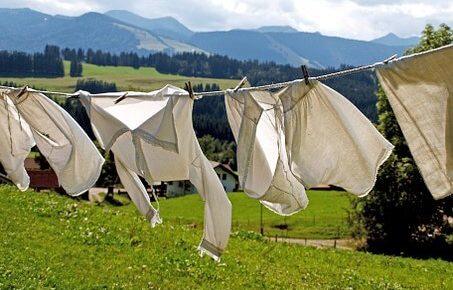 韓国の洗濯