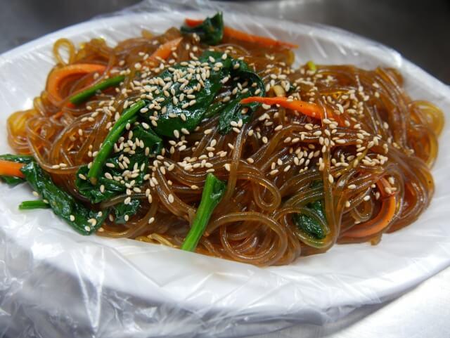 韓国の麺料理チャプチェ