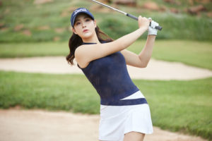 韓国女子ゴルファーパクキョル