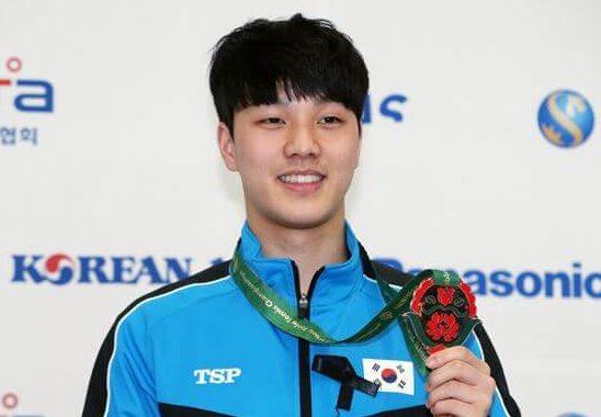 卓球選手アンジェヒョン